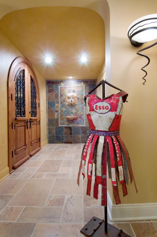 Wine Cellar Entrance